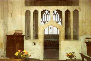 Harlton Church Screen