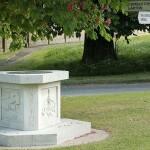 Harlton village sign