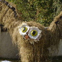 Haslingfield Scarecrow festival